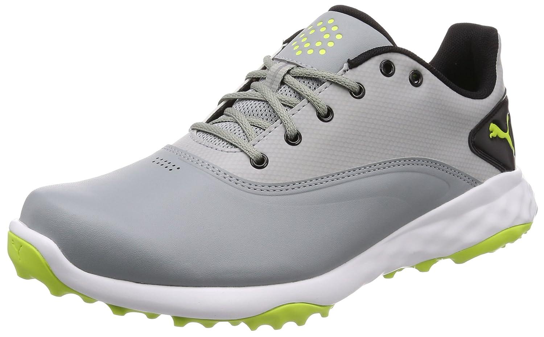 [プーマゴルフ] ゴルフシューズ GRIP FUSION メンズ B077MQF46B 25.5 cm プーマ ホワイトxブラックxトゥルー ブルー (01)