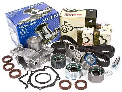 Evergreen TBK304WPA 99-05 Subaru Non-Turbo SOHC EJ22 EJ25 Timing Belt Kit AISIN