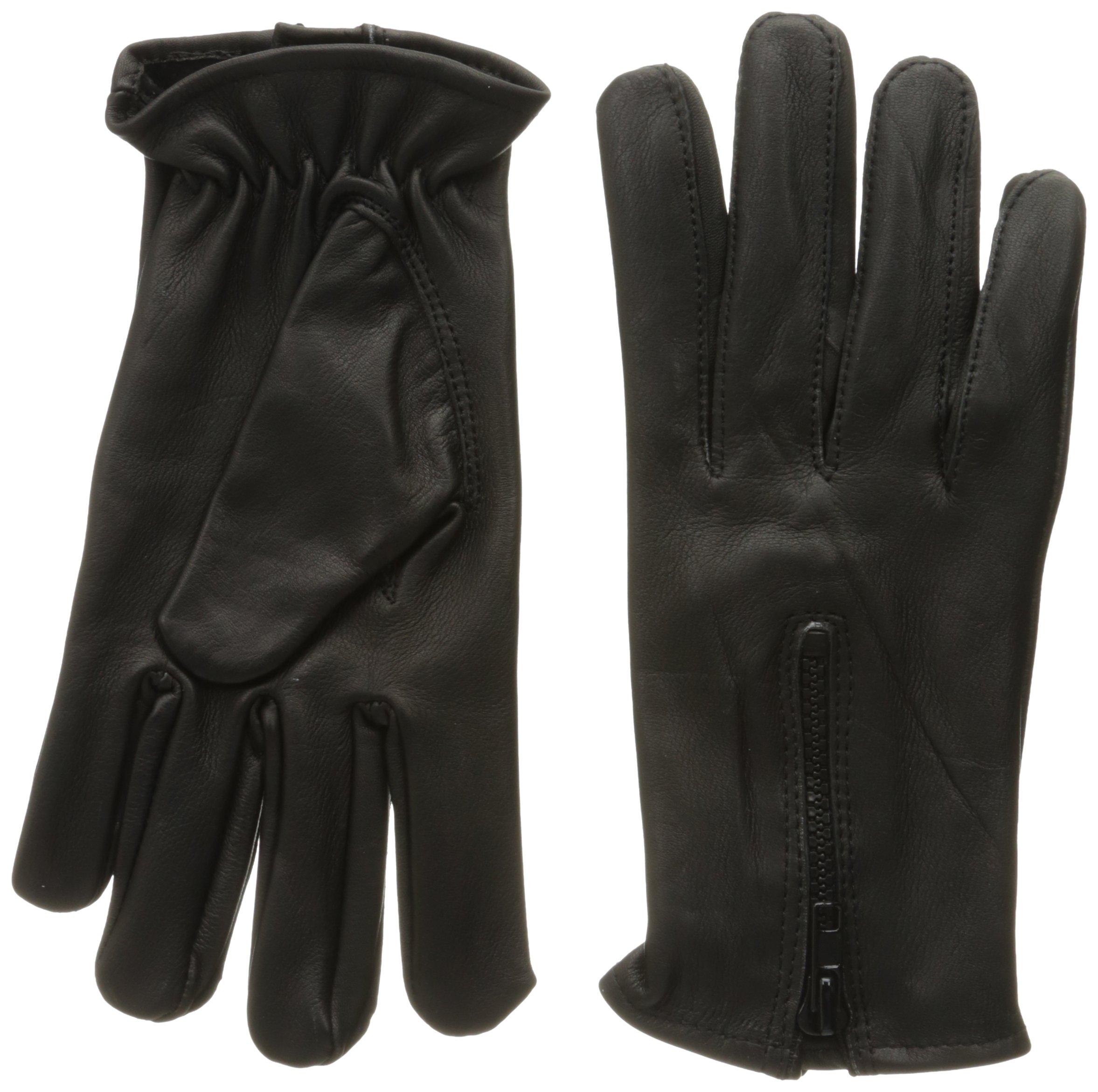 Shaf International Men's Deerskin Driving Gloves (Black, Medium) by Shaf International (Image #1)
