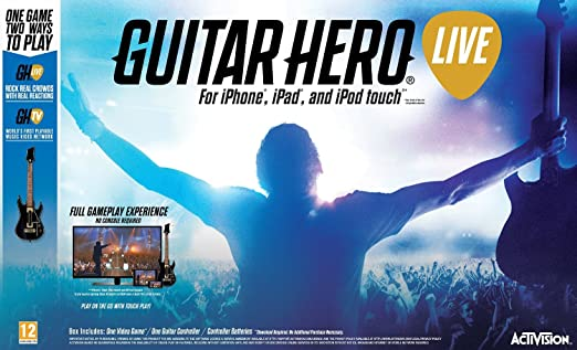 Guitar Hero Live Guitar Bundle - Comes with Guitar Controller for