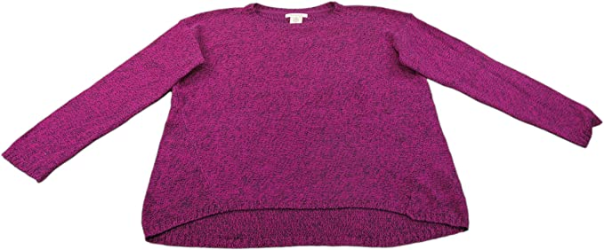 5db45579a1 Philosophy Ladies Small Long Sleeve Pullover Sweater Royal Magenta   Black