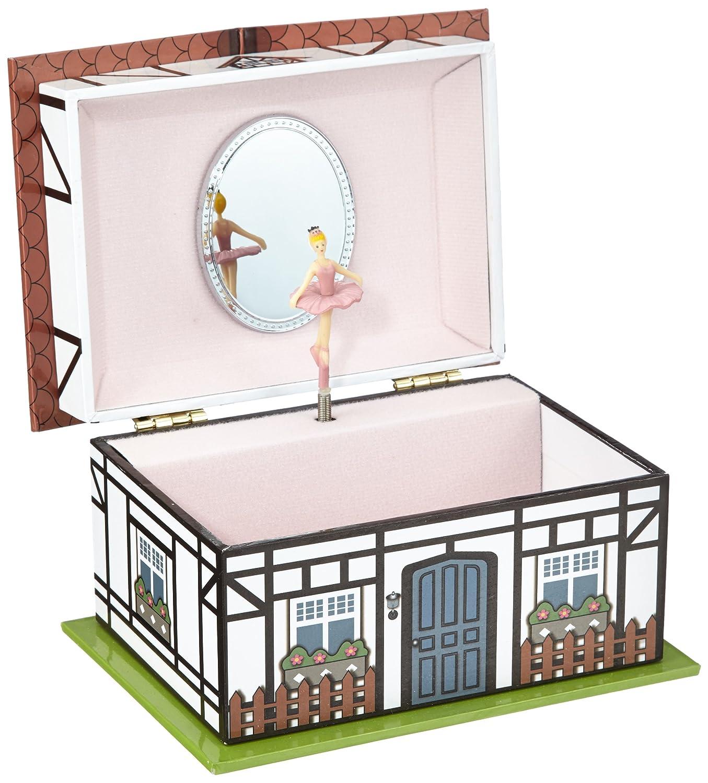 人気沸騰ブラドン Musicboxworld 28056 28056 Cottage Jewellery Box Playing the Box Melody
