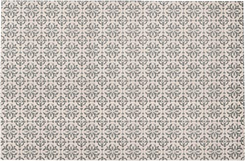 SHACOS Large Cotton Rug 4×6 ft Woven Cotton Area Rug