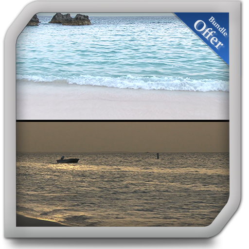 Seashore Day & Night - Change your mood with Sunrise at Stunning ()