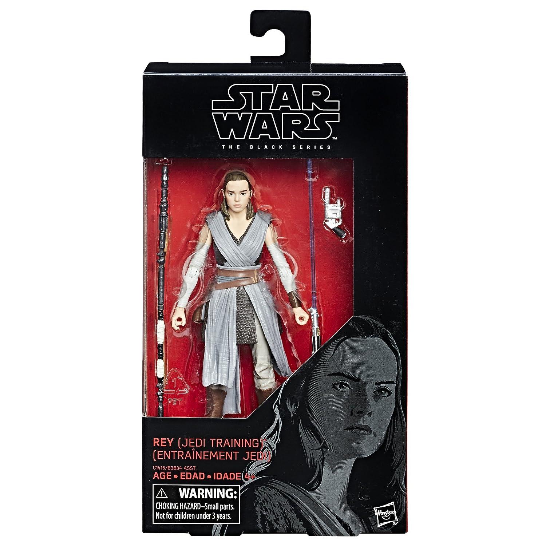 Star Wars The Black Episode 8 Series Rey Jedi Training 6-inch