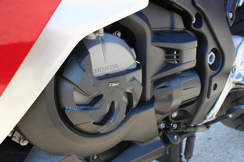 T-Rex Racing 2010-2017 Honda VFR1200F No Cut Frame Sliders Black