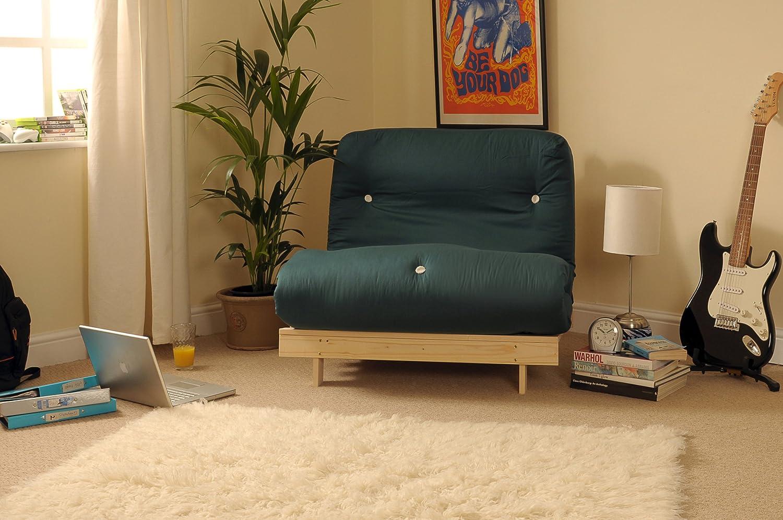 Comfy Living 2 FT6 Small Single Holz Futon Set mit Glade grün ...
