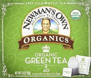 NEWMANS OWN ORGANICS Organic Royal Green Tea, 40 CT