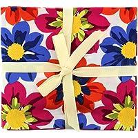 Fabric Freedom Tela Libertad de Flores Fat Quarter–Lote