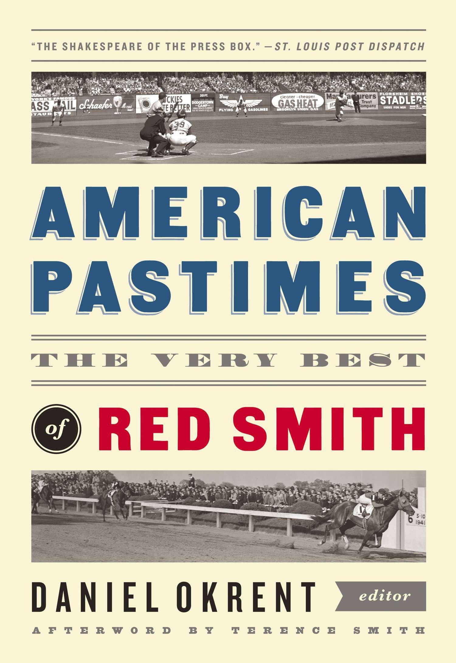Download American Pastimes: The Very Best of Red Smith: A Library of America Special Publication ebook