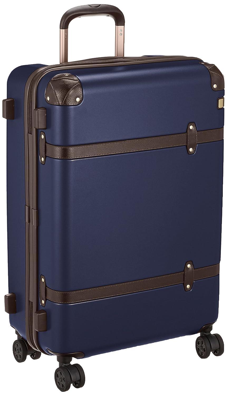 [エース] スーツケース サークル キャスターストッパー付 58L 60cm 4.3kg 06342 B079MD7GTLネイビー