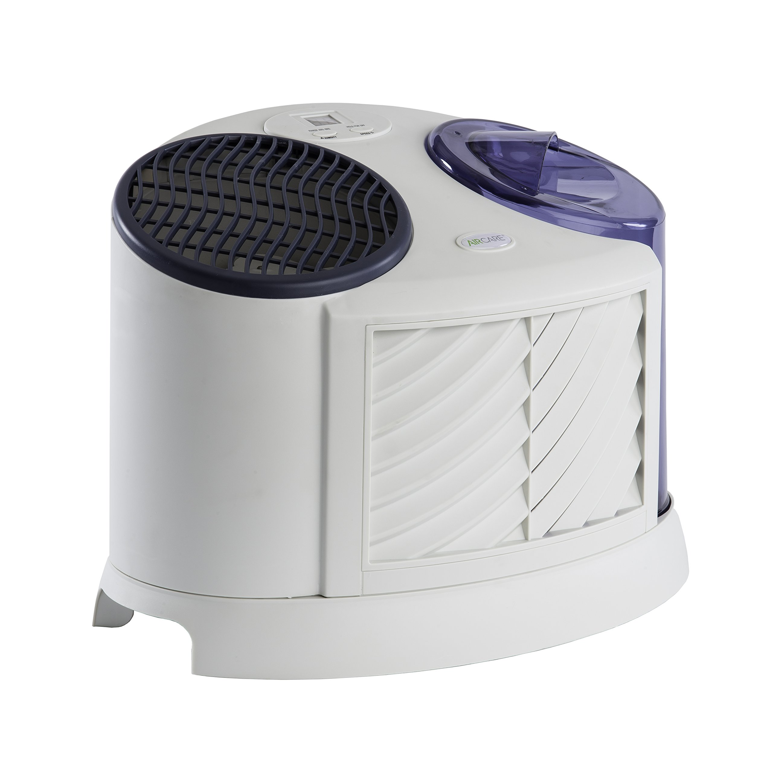 AIRCARE 7D6 100 4-Speed Table Top Evaporative Humidifier, Grey