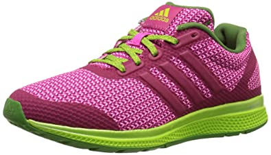 sports shoes 31b48 f09eb adidas Performance Womens Mana Bounce Running Shoe,Bold PinkPrism  BlueShock Pink