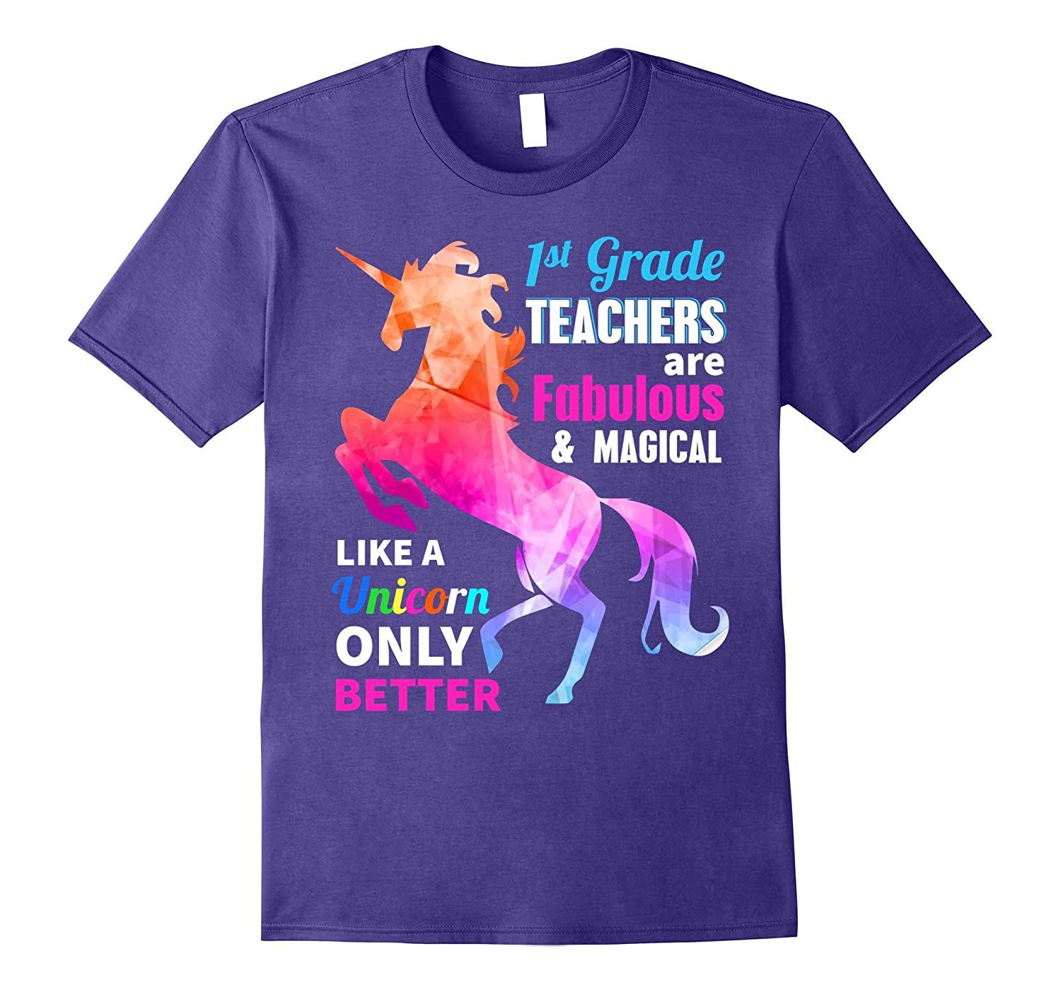 1st Grade Teacher Are Fabulous Magical Like a Unicorn Shirt-Art