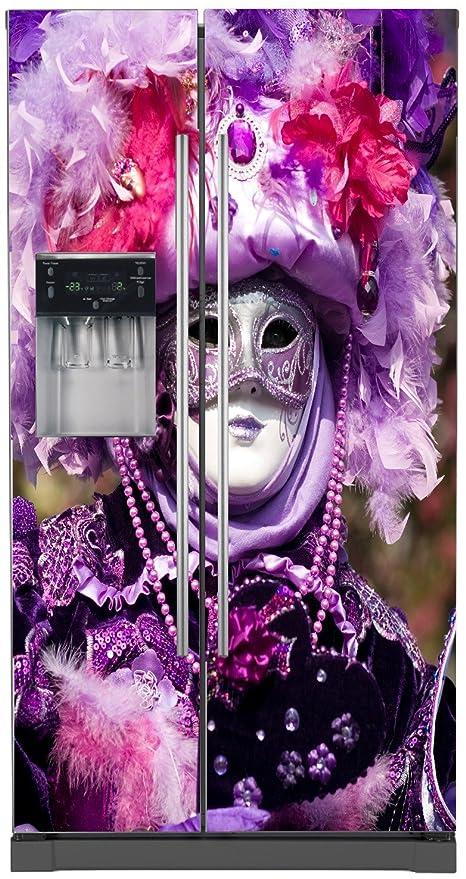 StickersNews Pegatinas Nevera Americano Carnaval Venecia 5780 ...