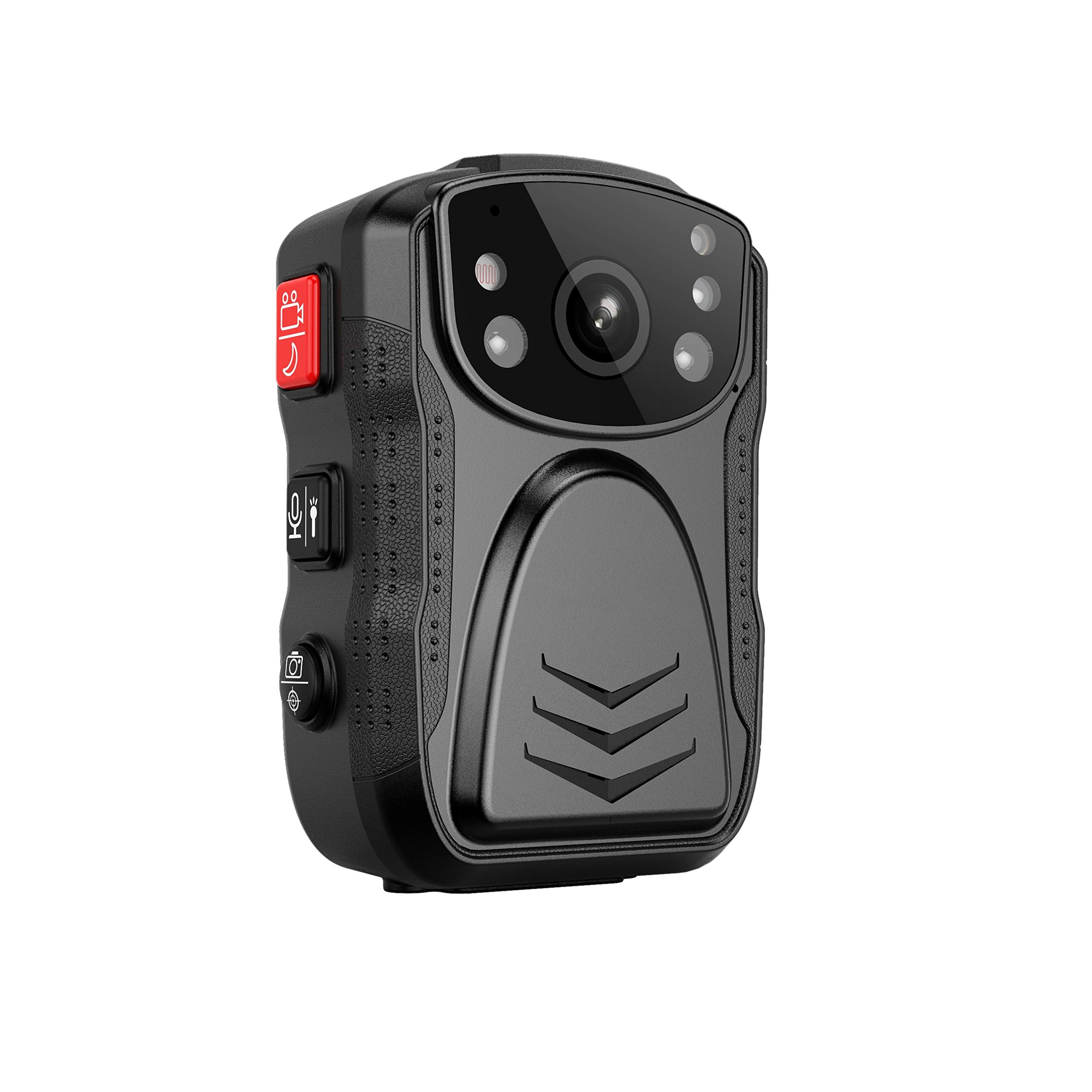 (Latest Gen)PatrolMaster 1296P UHD Body Camera with Audio (build-in 64GB), 2 Inch Display, Night Vision, Waterproof, Shockproof, Body Worn Camera with Compact Design, Police Camera for Law Enforcement by PatrolMaster