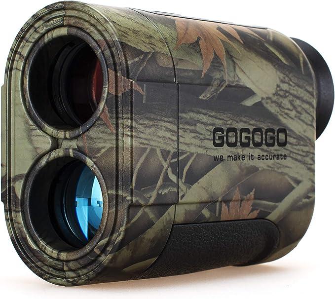 Gogogo Sport Vpro Hunting Laser Rangefinder - The Best Bow Rangefinder