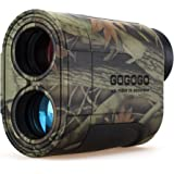 Gogogo Sport Vpro 6X Hunting Laser Rangefinder Bow Range Finder Camo Distance Measuring Outdoor Wild 650/1200Y with…