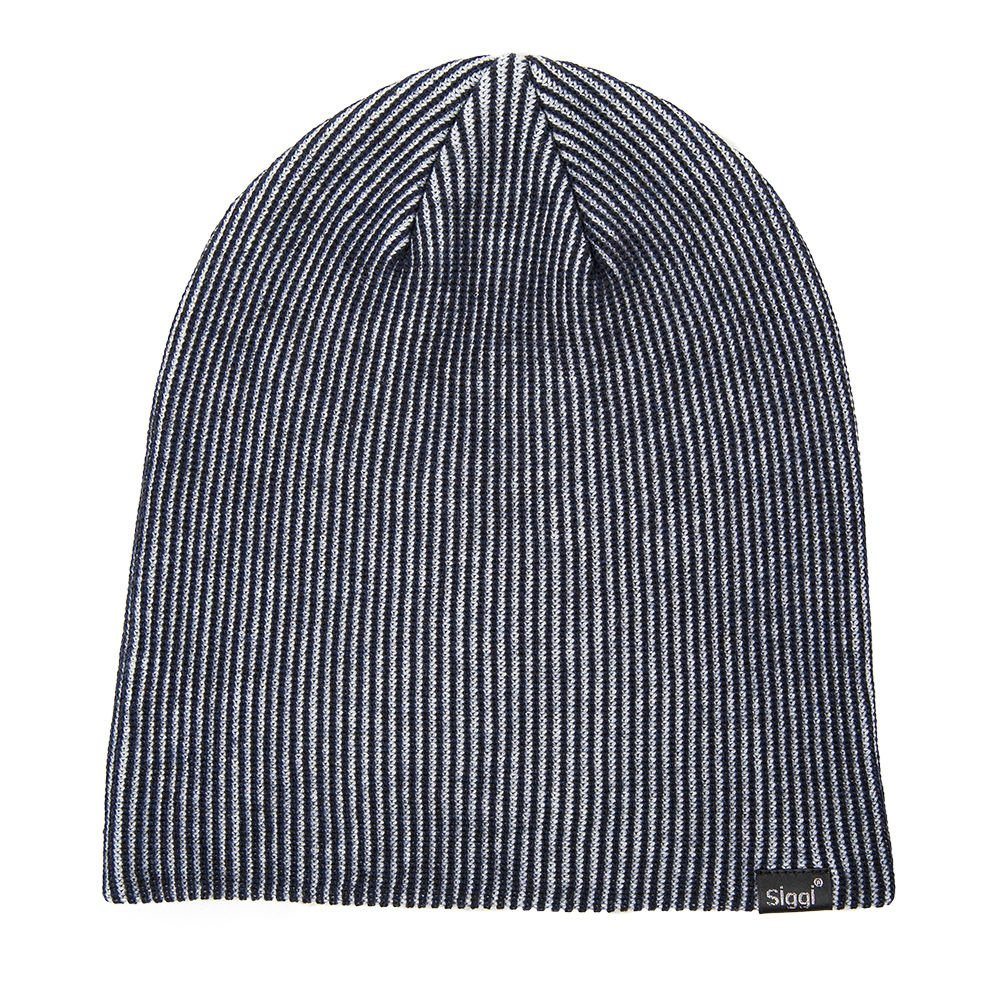 12a5f7fc7d6e2 VERSATILE  Slouch Beanie Style + Watch Cap Style. DOUBLE-LAYER  The thick  wool blend yarn makes you feel toasty in winter.