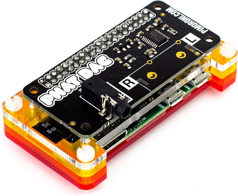 Pimoroni pHAT DAC 24-bit/192KHz Sound Card for Raspberry Pi Zero / A+ / B+ / Raspberry Pi 2 Model B