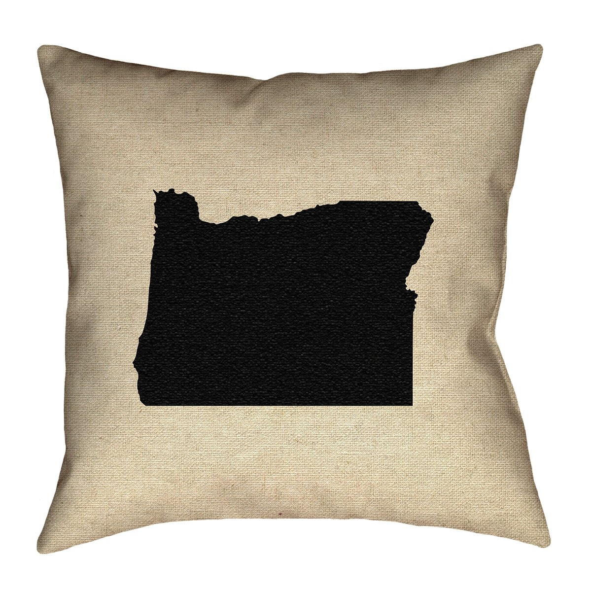 ArtVerse Katelyn Smith 20 x 20 Cotton Twill Double Sided Print with Concealed Zipper /& Insert Oregon Pillow