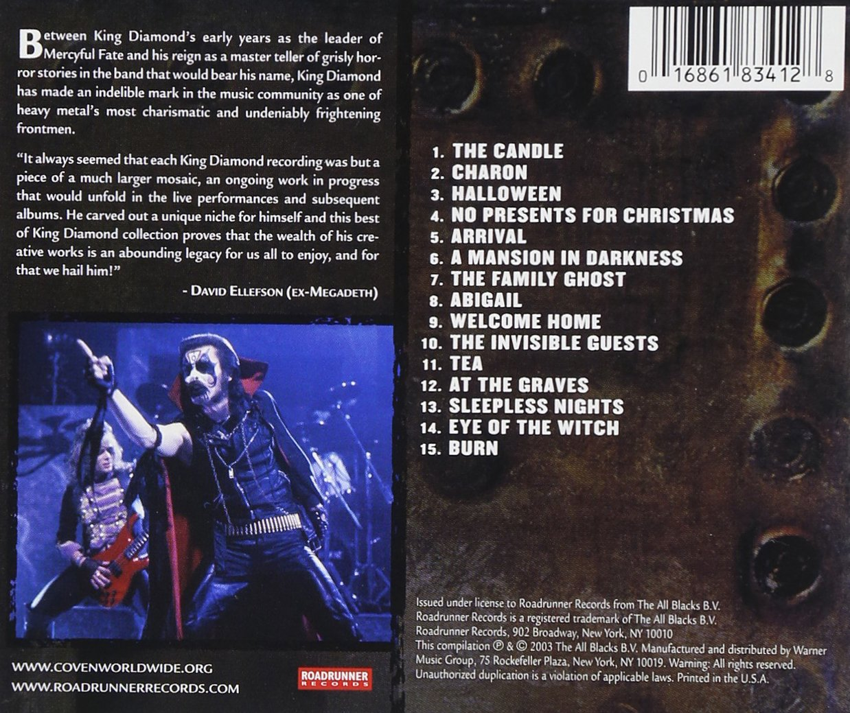 King Diamond - Best of: KING DIAMOND - Amazon.com Music