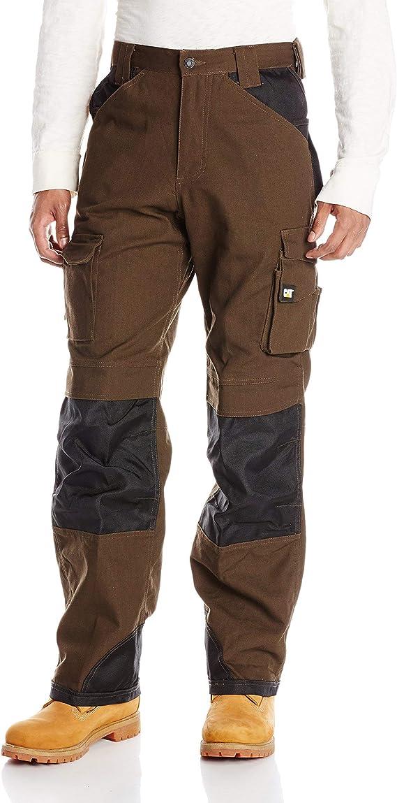 brown work pant