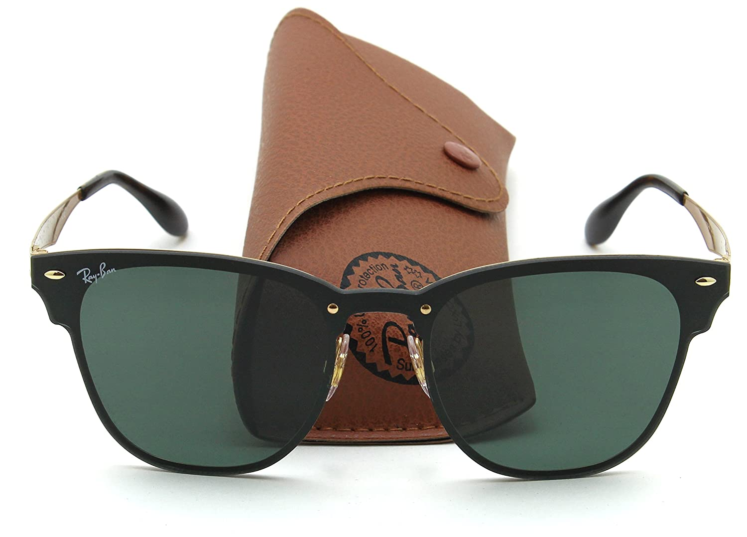 371f5eb86e Amazon.com  Ray-Ban RB3576N BLAZE CLUBMASTER Sunglasses 043 71