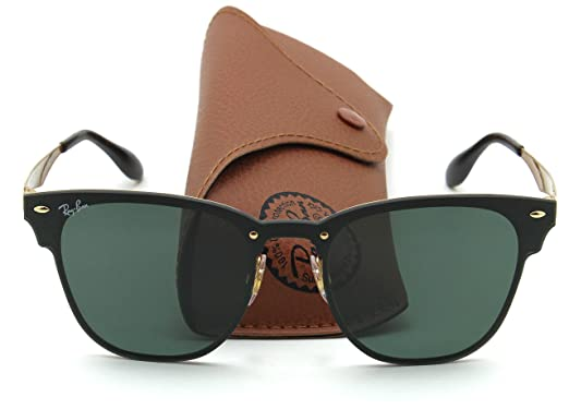 027082b6a3506 Image Unavailable. Image not available for. Color  Ray-Ban RB3576N BLAZE  CLUBMASTER ...