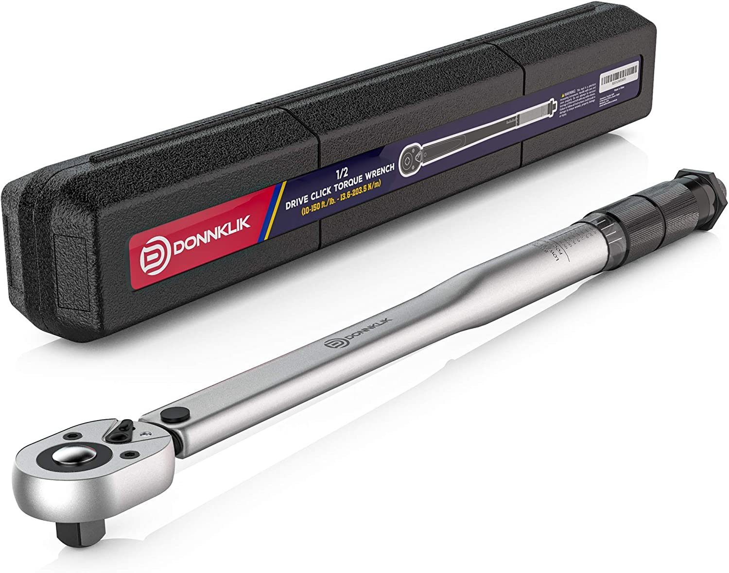 Donnklik 1/2- Inch best Torque Wrench Foot Pounds