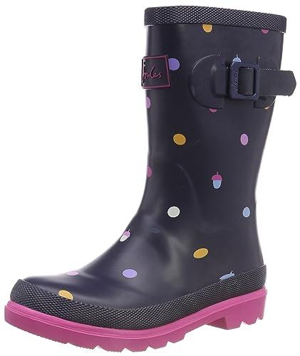 Joules Girls/' Biker Welly Wellington Boots