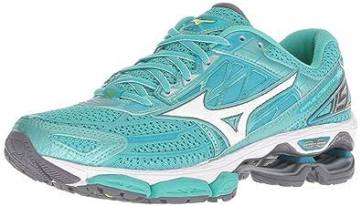 info for 658c9 08870 Mizuno Women s Wave Creation 19 Running Shoe, Turquoise Peacock Blue, ...