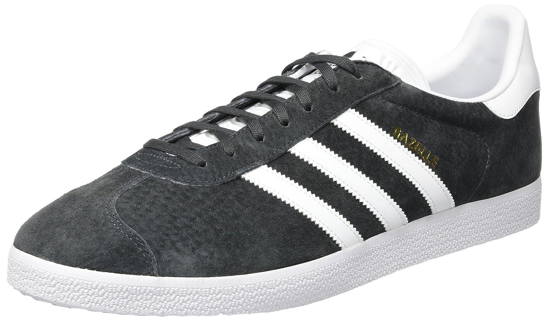 Adidas Gazelle, Zapatillas Unisex Adulto 49 1/3 EU|Gris (Dark Grey Gris Heather Solid Grey/White/Gold Metallic 0)