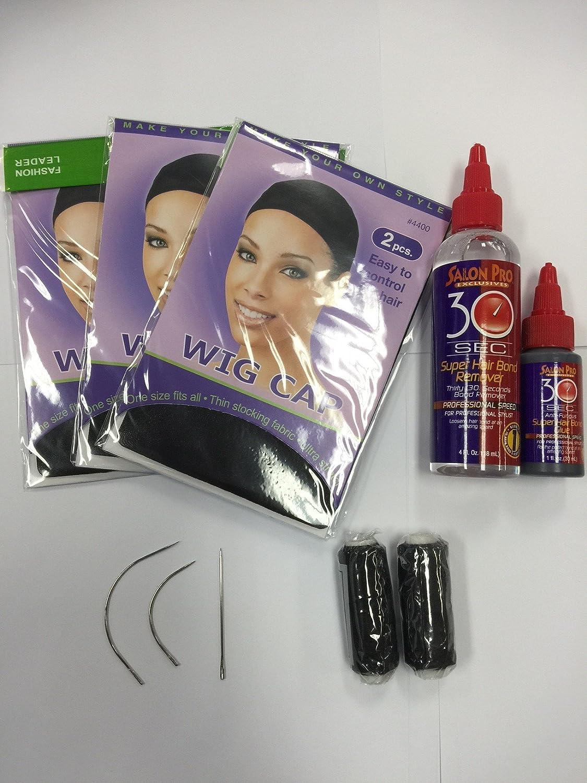 Low Cost Hair Weaving Kit Hair Extinsions Sewing Kit Hair Glue