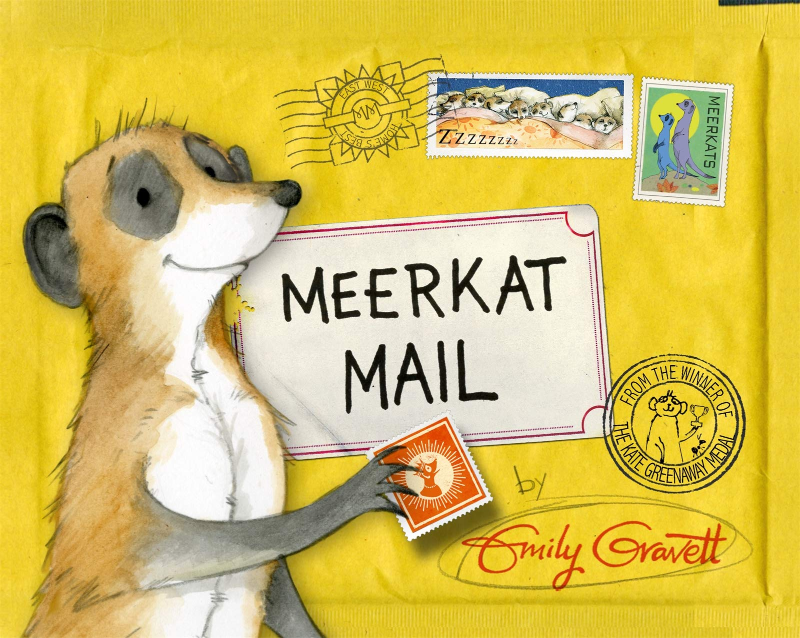 Meerkat Mail: Amazon.co.uk: Gravett, Emily: Books