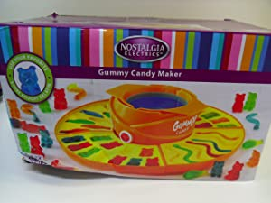 Nostalgia Electrics Gummy Candy Maker, GCM200