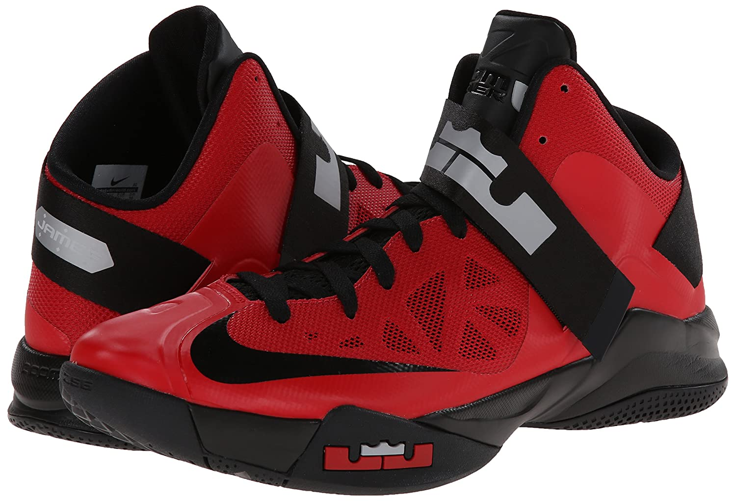 official photos a2f69 fa87e Amazon.com   Nike Zoom Soldier VI Mens Basketball Shoes 525015-600  University Red 8 M US   Basketball