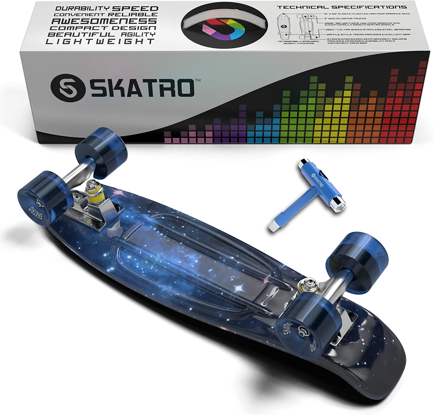 skatro - Mini Cruiser Skateboard - 2