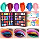 EYESEEK Eyeshadow Palette Matte 50 Colors High Pigmented Colorful Eyeshadow Makeup Palette Shimmer Bright Color Eye Shadow Powder Easy To Blend Long Lasting Waterproof Makeup Pallet #Neon