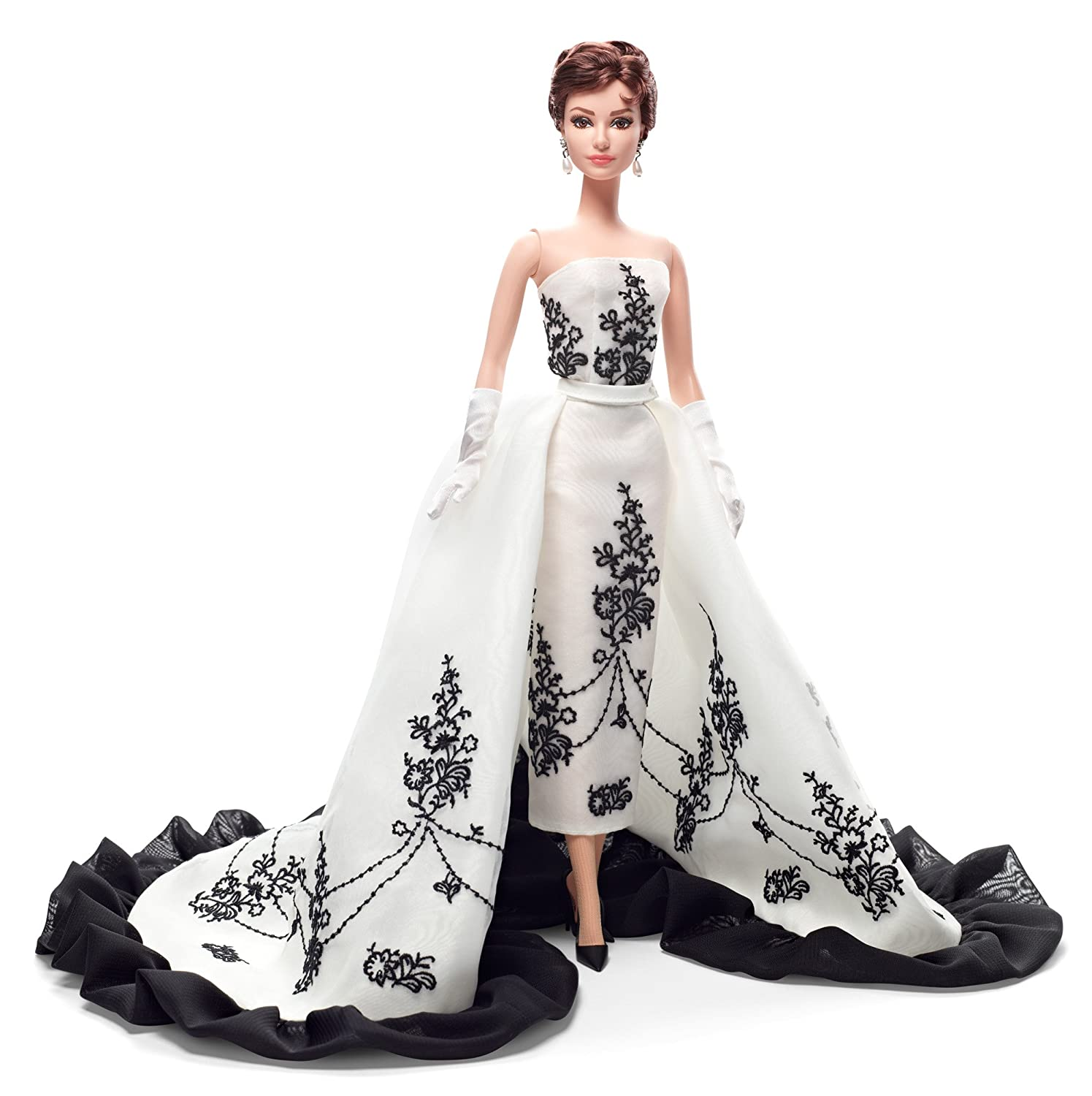 Amazon.com: Barbie Collector Audrey Hepburn Sabrina Doll: Toys & Games