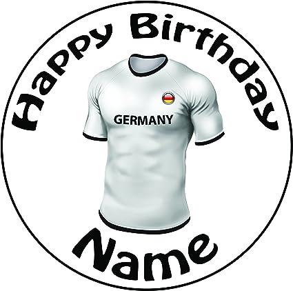 Personalizado Alemania Camiseta de fútbol decoración para ...