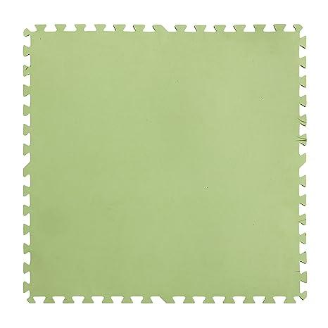 Gre MPF819 - Protector de Suelo para Piscina, 9 piezas, Color Verde, 4