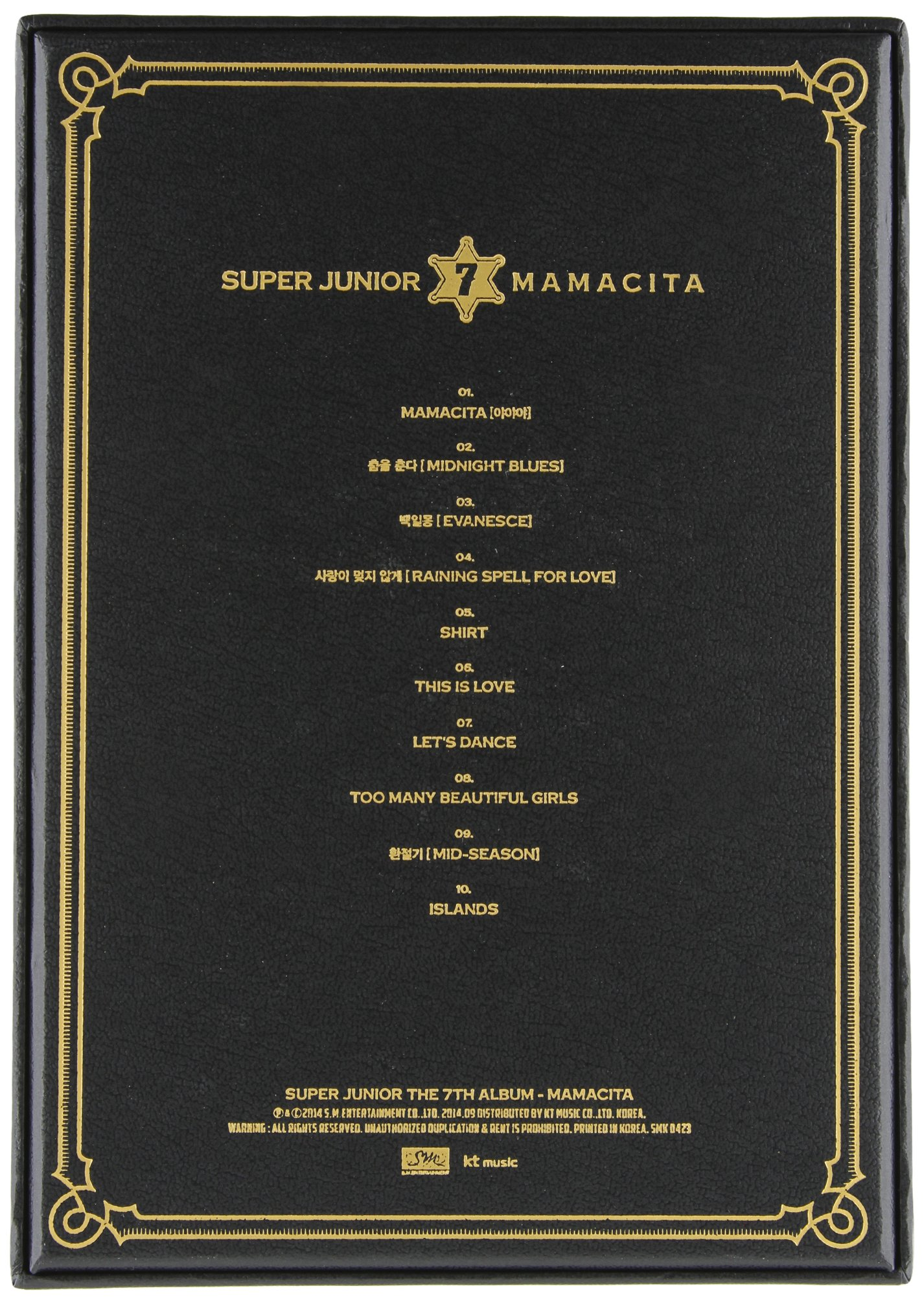 Super Junior - Vol.7 [MAMACITA] by SM entertainment