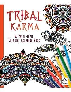Amazon Artzone Trends International Tribal Animals Coloring