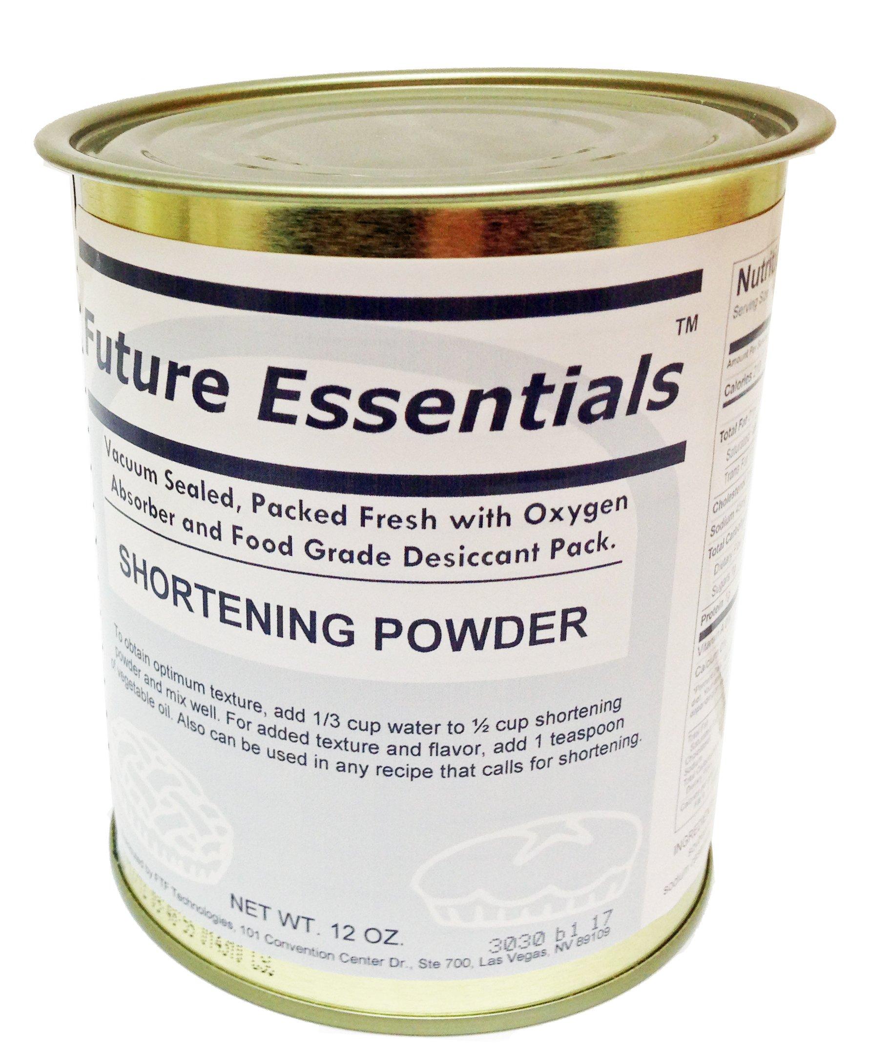 Future Essentials Canned Shortening Powder by Future Essentials
