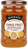 Mackays Three Fruit Marmalade, 340g