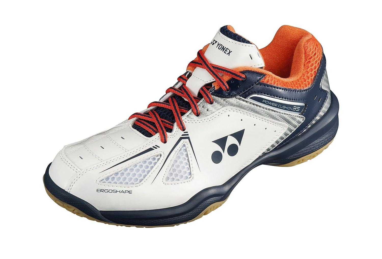 Yonex Chaussures de Badminton SHB Hommes Blanc/Bleu/Rouge Taille 45