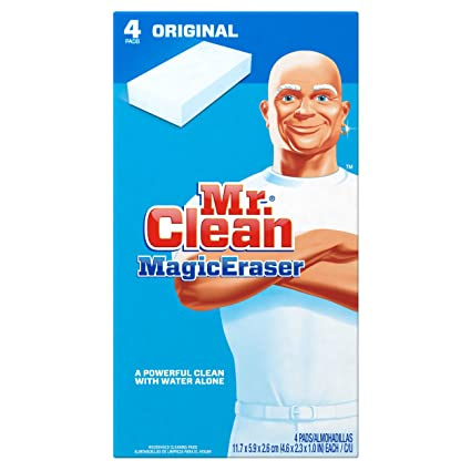 Mr. Clean Magic Eraser Multi-Surface Cleaner, Original, 4 Count