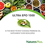 NaturesPlus Ultra EPO 1500-1500 mg Evening Primrose Oil, 90 Softgels - Hormone Balance Supplement, Promotes Healthy, Clear Skin, Anti-Aging, Antioxidant - Gluten-Free - 90 Servings