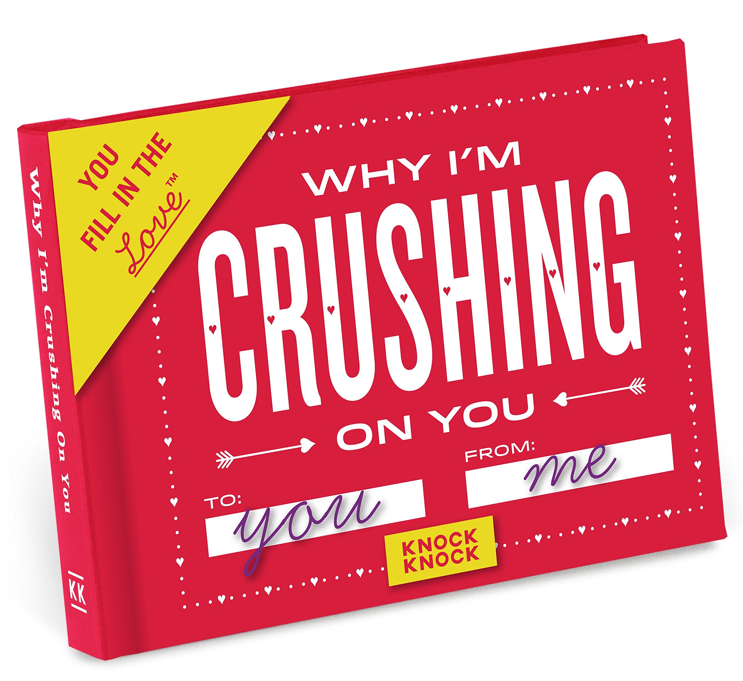 Knock Knock Why I'm Crushing on You Fill in the Love Journal by Knock Knock (Image #7)